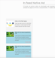 In-Feed Native Ad